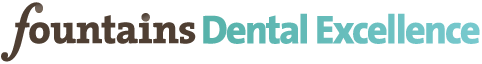 Fountains Dental Excellence Sticky Logo Retina