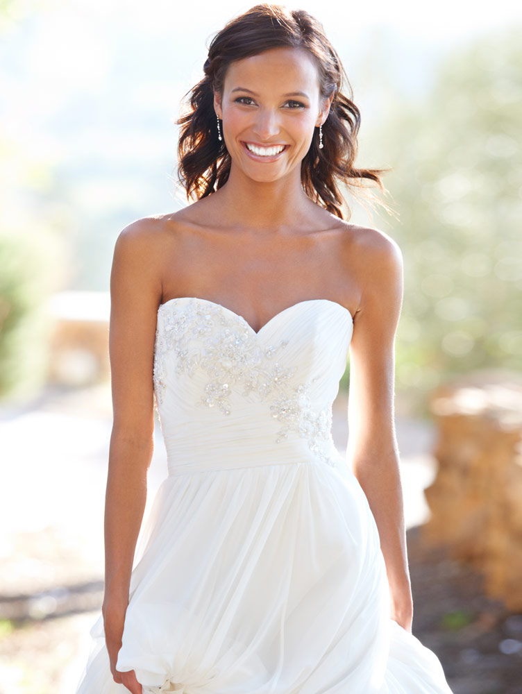 Bride with Confident Smile