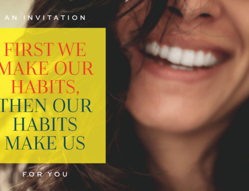 Event Invitation: First We Make Our Habits, Then Our Habits Make Us