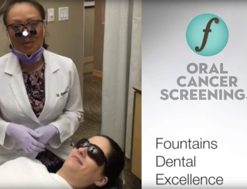 Oral Cancer Screening at Fountains Dental Excellence